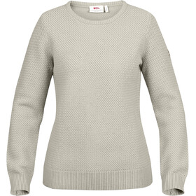 Fjällräven Övik Structure Sweater Women Egg Shell-Grey